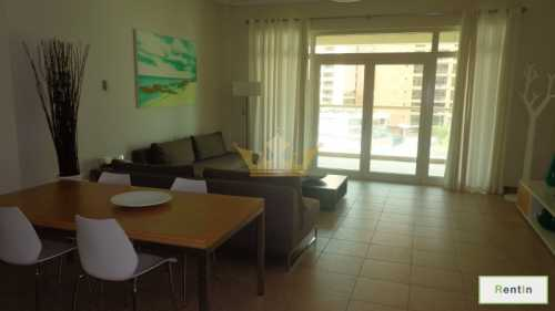 Fully Furnished One Bedroom in Shoreline Apartment