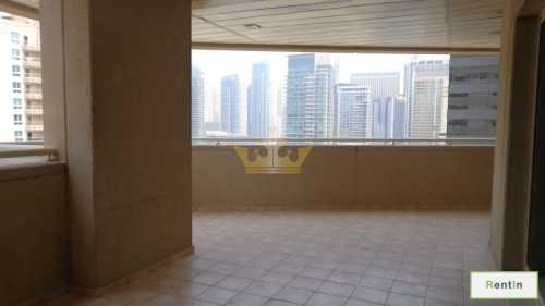 2bedroom with huge balcony, Chiller free, 6 cheques