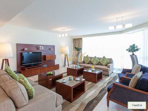 4Bedrooms+Maid's, Serviced Apartment in JBR