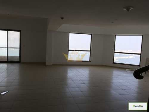Duplex Apartment with Full Sea in JBR, Exclusive