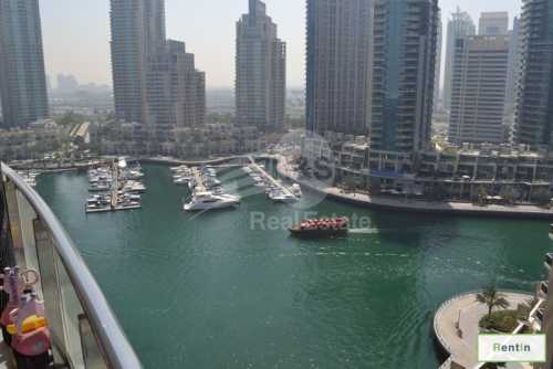 Marina View 2 BR | Maid Room | Unfurnished