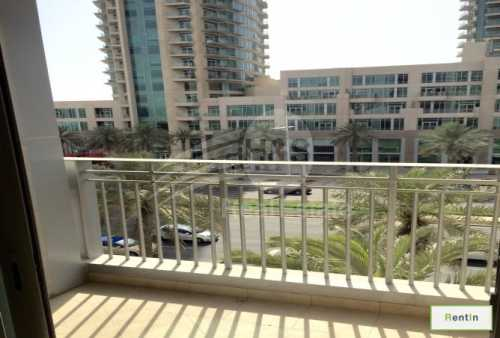 Huge Studio | Fully Furnished with Boulevard View