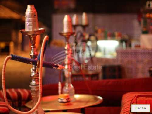 2 Restaurant  Concept with shisha license