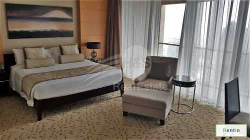Luxury furnished serviced apartment at The Address Dubai Mall