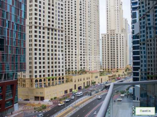 Well maitained 1BR with Balcony/JBR view