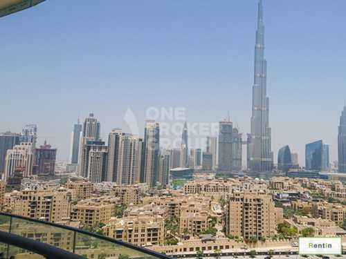 Burj Khalifa view 3 Bed Fully Furnished