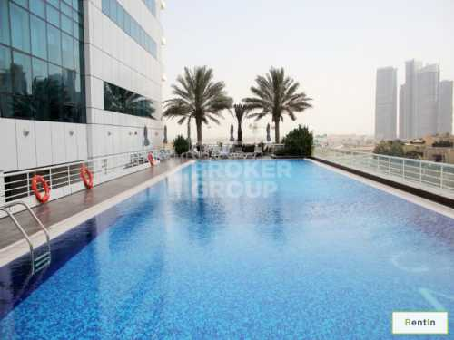 1 Bed Apt, High Floor with Marina View