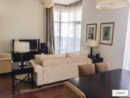 Fully Furnished 1 BR Apt. Near to Metro