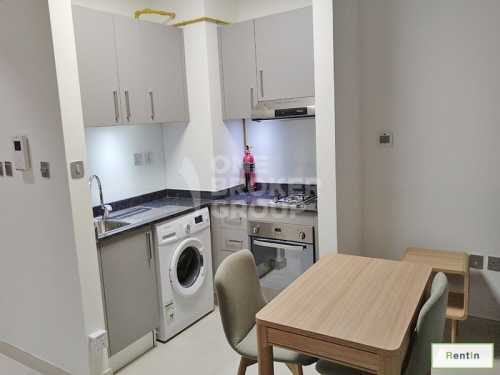 High Floor,Furnished Studio,Mult Cheques