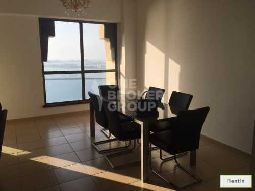 Furnished Apt, 2 BR Full Sea view,Vacant