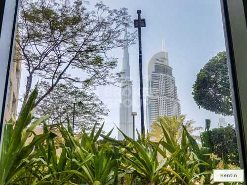 Exclusive Layout|1B|Garden and Burj View