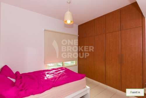 Large 1BR,Pool and Park views,Av in Aug