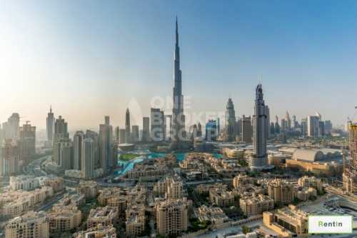 Great Deal Brand New 2BR burj khalifa view