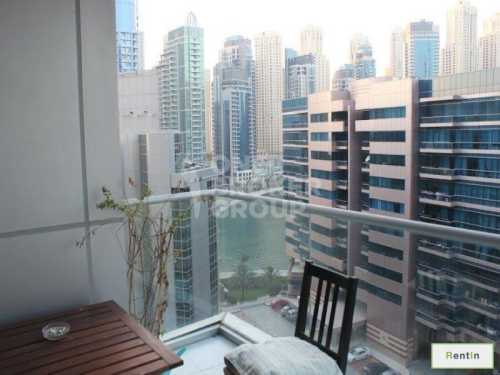 Mid floor 1 Bed with partial marina view