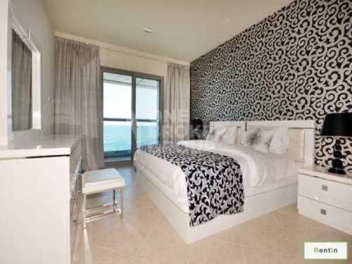 Full Sea and Palm views, Fully Furnished