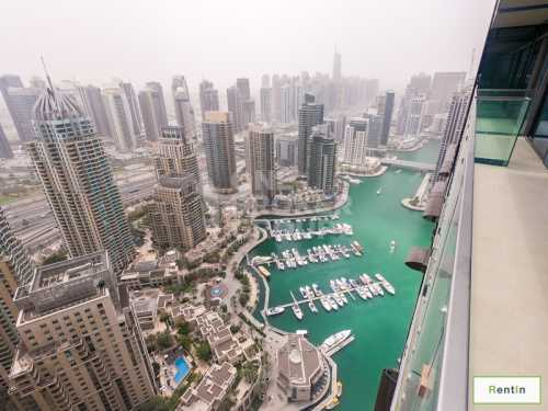 2BR|High Floor w/ Astonishing Marina View