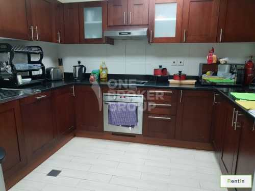 Upgraded  2 BR with maid ready to move in