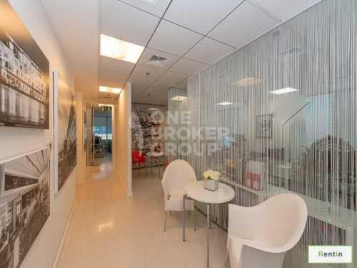 Fully Fitted Office w/ Lake View Saba Tower