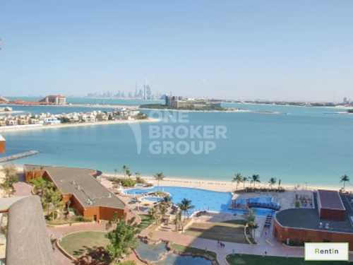 Furnished High Flr,Sea Burj Al Arab view