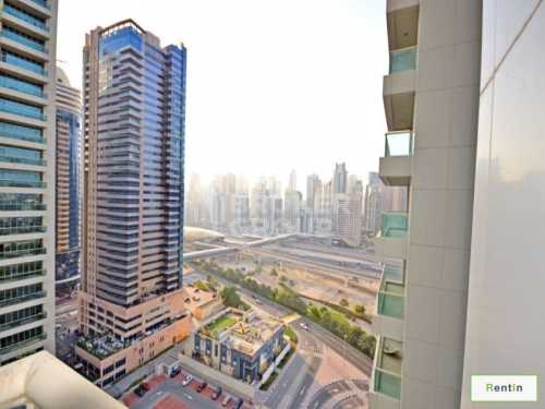 2 Bed Apt with 2 Parking, Lake View, JLT
