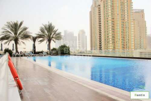 Marina view, Well Maintained, High Floor