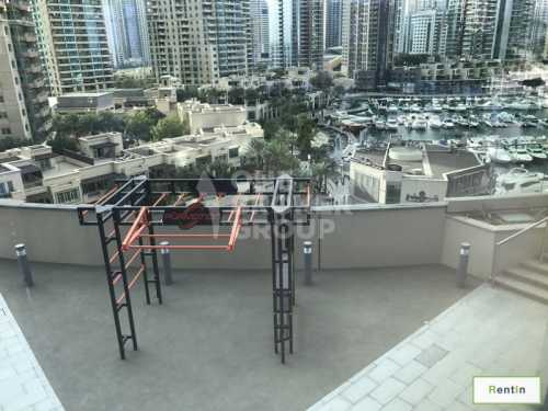 Contemporary Tower Partial Marina Sea view