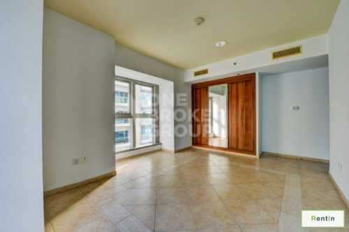 Unfurnished, Mid Floor, Partial Sea View