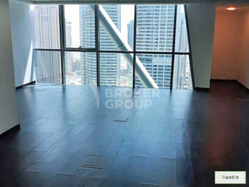 Fitted office, high floor w/ lake view