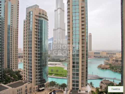 Well Maintained 2 Bed, Partial Burj View