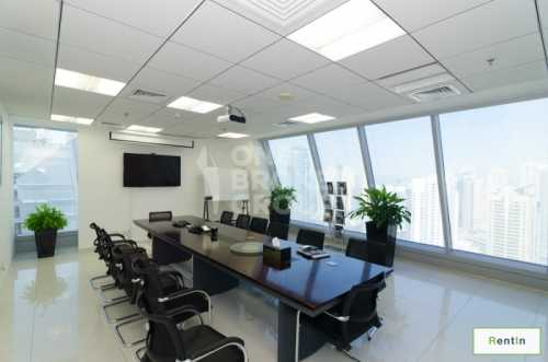 Fully Fitted Office in Saba Tower For Rent