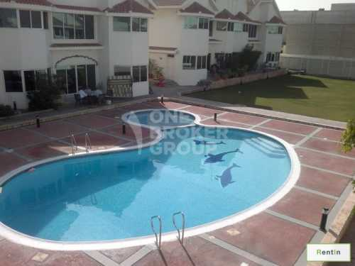 4 BR villa with Sharing POOL and garden