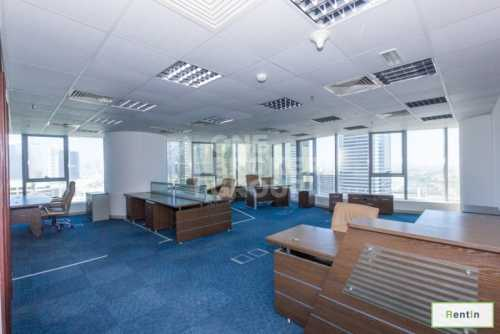 Huge and Vacant Fully Fitted Office Space