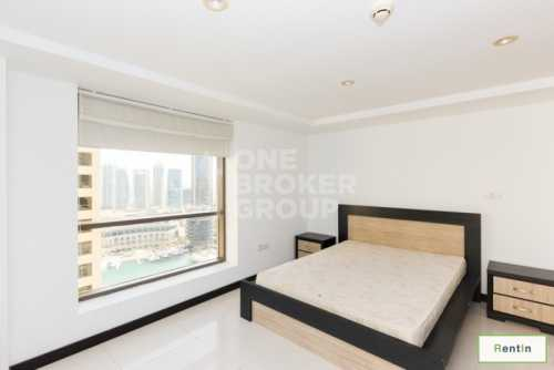 2BR Plus Study with Sea and Marina Views
