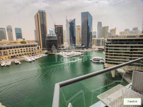 Magnificent 1 Bed with Full Marina View