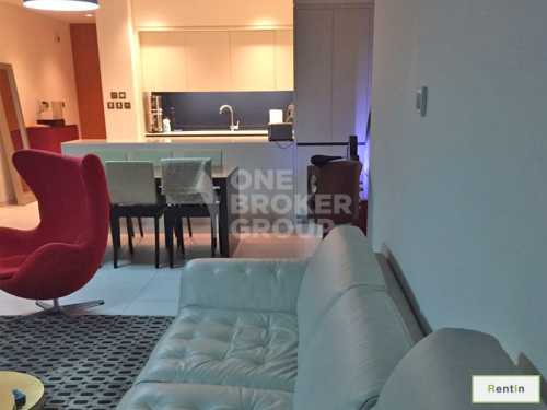 Hight floor 2 Bed Apt in Index Tower !!!