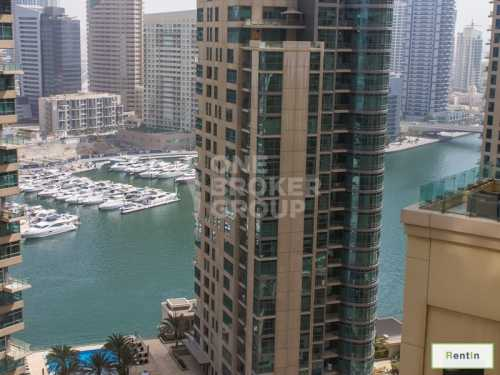 Vacant/ 2br/Marina,Sea view /Unfurnished