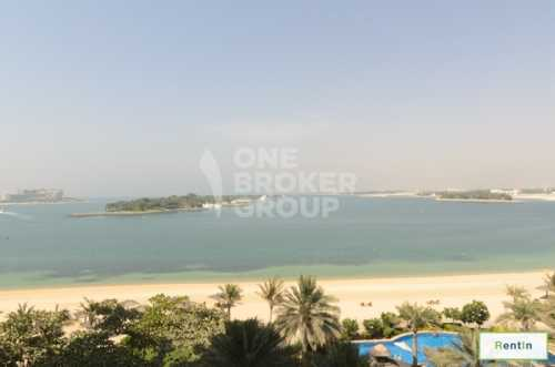 Exclusive 1BR with Full Sea View, Vacant