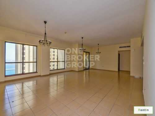 Elegant 4 BED I Partial Sea View I JBR