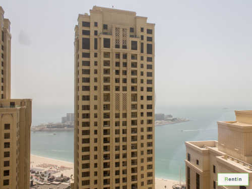 High Floor 2 BR l Sea view l Furnished