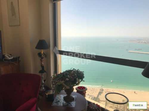 3 BR Apt with Full Sea View, High Floor