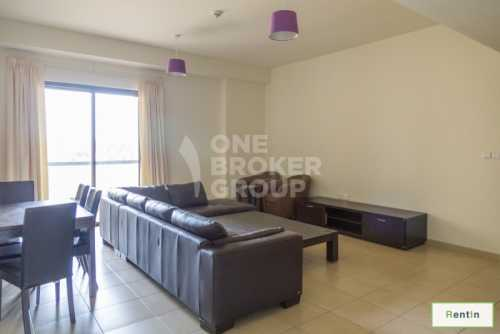 Furnished 3 Bed Apt, with Community View