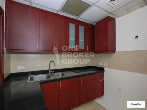Vacant, 3 BR Apt Partly Furnished, Bahar
