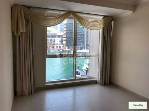 All bedrooms with Full Marina view,Vacant