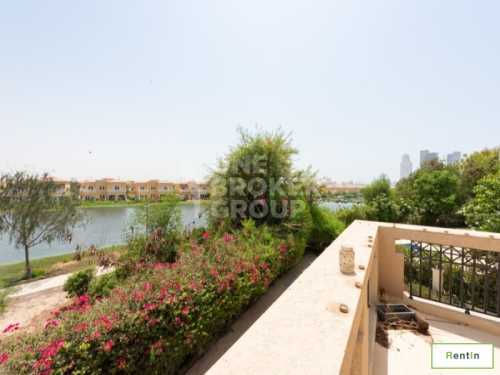 Exclusive Full lake view Upgraded 4 BR+Maid's Room