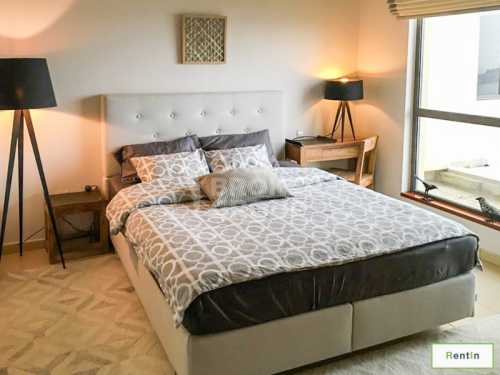 Sea views deluxe furnished 2 BR in JBR