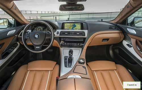 BMW 6 Series GT for rent in Dubai