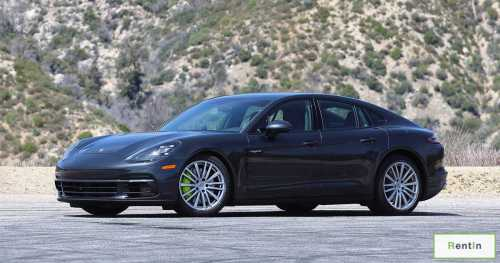 Porsche Panamera for rent in Dubai
