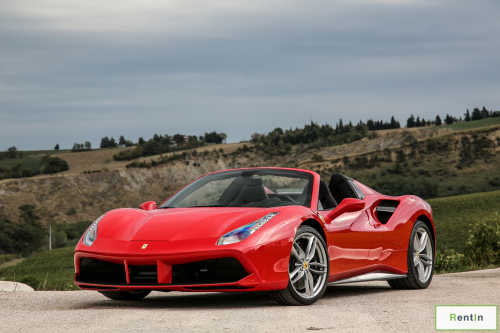 Ferrari 488 Spider for rent in Dubai