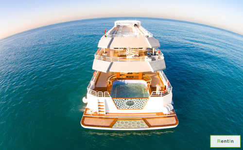Desert Rose yacht rental in Dubai 155 FT