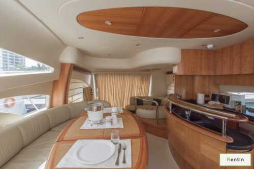 62-ft yacht for rent in Dubai
